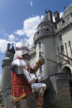 Knight by Chateau Langeais